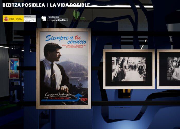 Un Recorrido en 3D por la apasionante vida de GREGORIO ORDÓÑEZ, asesinado por ETA hace 25 años